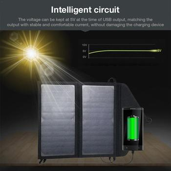 Portable 15W5V Output Folding Solar Bag Panel  1