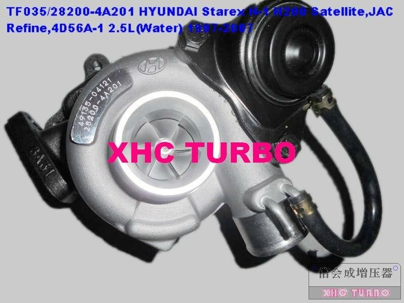 NEW TF035/49135 04121 Turbocharger HYUNDAI Starex H1 H200 Satellite,JAC Refine,4D56A 1 2.5L 97 07(water)