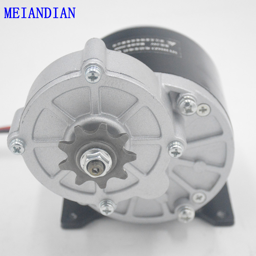 24V 36V 350W Electric Bike Tricycle Brush DC Motor Gear Brushed Motor for E bike motorcycle