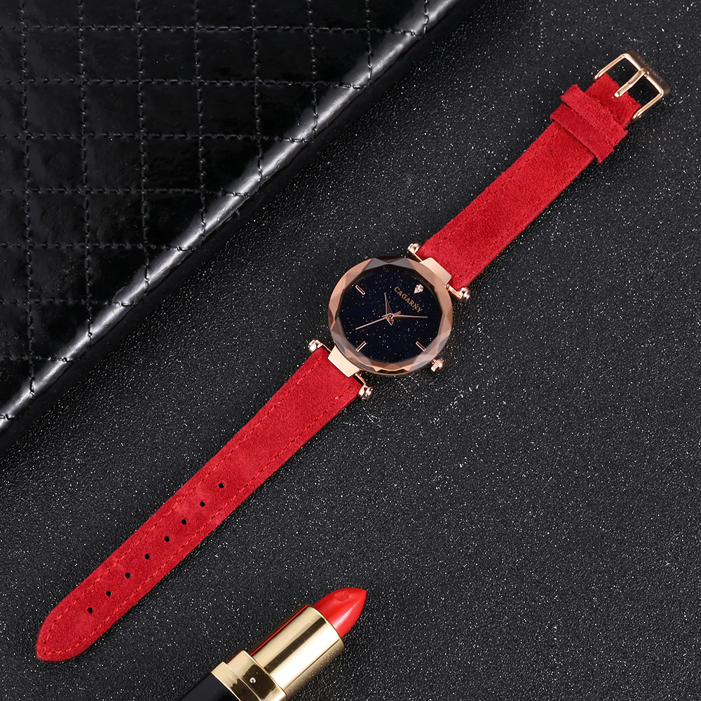cagarny 2018 Leather Women Watches Ladies Luxury Brand Famous Wrist Watch Fashion Dress Female Clock Relogio Feminino Montre Femme drop shipping (3)