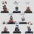 Мини Assassins Creed Blcak Flag Эдвард Джеймс Kenway Альтаир Эцио Коннор Хайтам E рисунок Строительный Блок Игрушки совместим с lego
