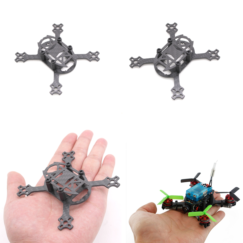 Kingkong Q90 90 mm Micro Brushless Quadcopter Drone Carbon Fiber 1.5mm Arm For DYS 1104 7800kv FPV Blade Inductrix Tiny Whoop rc aircraft arf kingkong 90gt 90 brushless micro fpv racing quadcopter drone f3 flight controll 800tvl vtx 3a esc tiny whoop