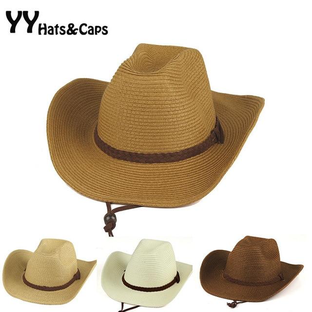 50a22216ec080 Straw Cowboy Hat for Man 2015 New Bone Boiadeiro Unisex Party Hat Summer  Style Western Hats Chapeu Masculino Cowboy YY0268