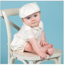 2019 summer 1 Year Birthday Baby Boy Clothes For Baptism Christening Gown Newborn Toddler romper boy Infant Bebes Clothes цена в Москве и Питере