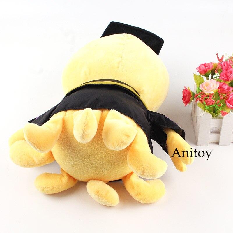 Anime Assassination Classroom Pulsh Toy Korosensei Plush Doll Staffed Toy for Children 29cm