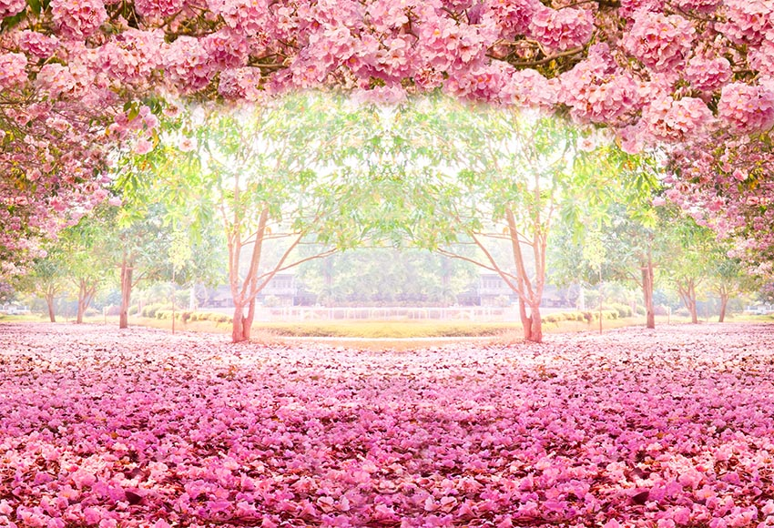 100% Kwaliteit Sprookje Roze Bloemen Fotostudio Achtergronden Dunne Vinyl Fotografie Bos Fotostudio Bruiloft Brial Douche Achtergronden Een Brede Selectie Kleuren En Motieven