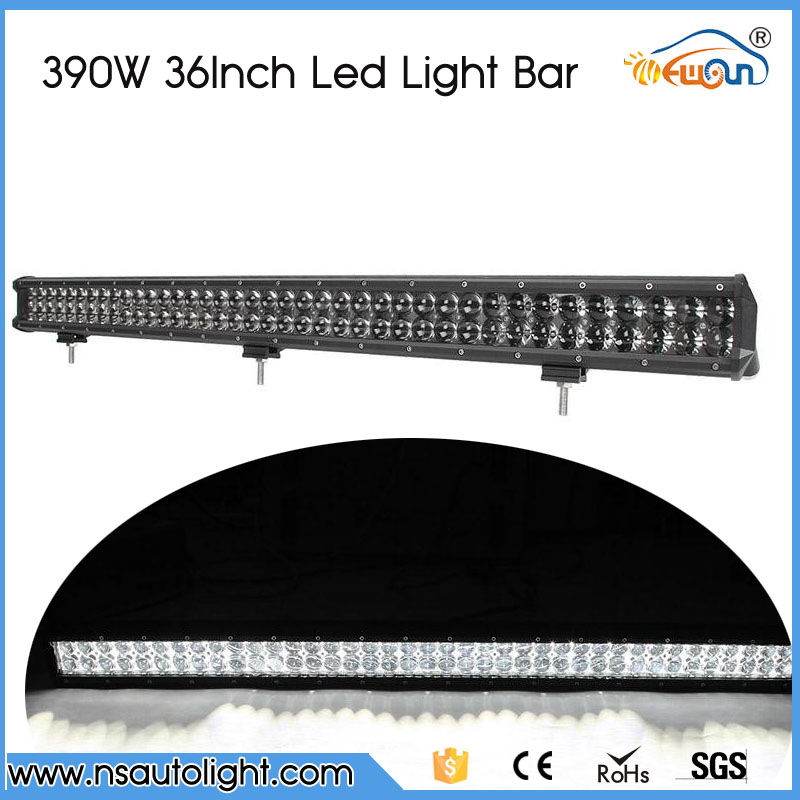 390W 36.5Inch 4D Straight LED Light Bar Offroad Work Light Truck SUV ATV Car Led Light 12v 24v Led Driving Lamp Combo Beam for onda v891w lcd screen display by free shipping 8 9 1920 1200