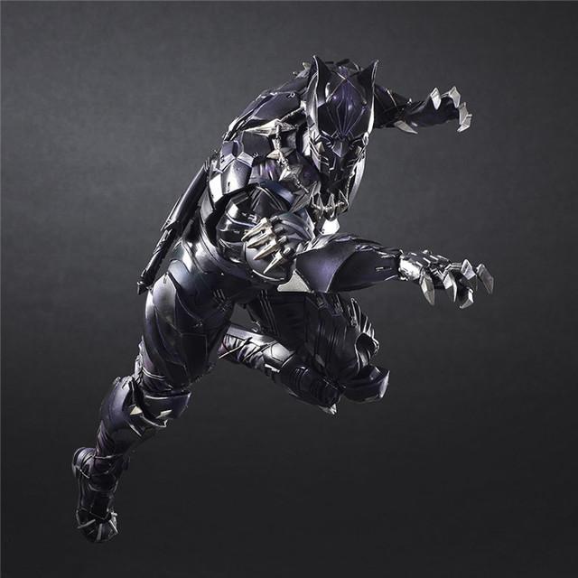Marvel Avengers Black Panther Super Hero  Action Figure 27cm