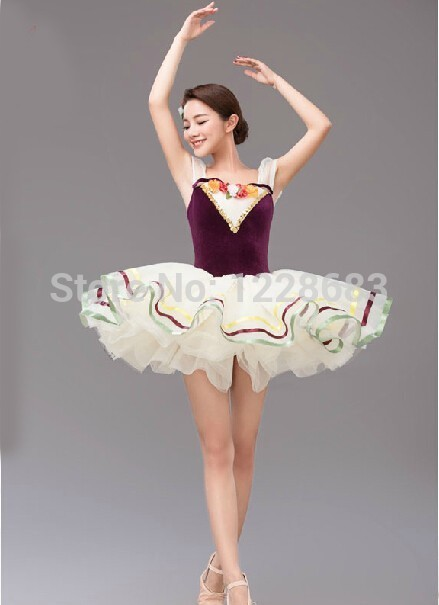 f4985f958 Fairy Flower Romantic Tutu Skirts Adults Adult And Kids Professional ...