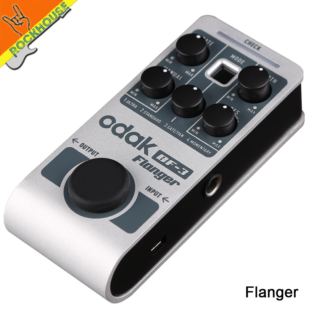 2016 NEW mini Classic tube Flanger guitar effect pedal powered by 5V USB power bank large adjustable true bypass free shipping mooer ensemble queen bass chorus effect pedal mini guitar effects true bypass with free connector and footswitch topper