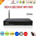 5mp/4mp/3mp/2mp/1mp Câmera IP Blue-Ray Hi3536D XMeye H.265 5mp + Auido NVR 16CH 16 Canal IP Onvif NVR WI-FI Frete Grátis
