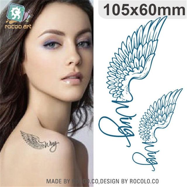 Body Art Fashion Waterproof Temporary Tattoos For Women Angels