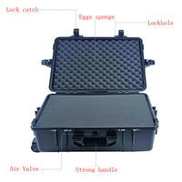 High Quality Hard Abs Plastic Pull Rod Case With Wheels