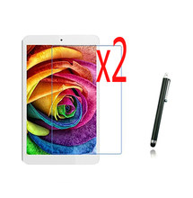 "3in1 2x LCD Klar Screen Protector Filme Schutz Film Guards + 1x Stylus Stift Für Alcatel One Touch Pop 8 p320X 8 ""Tablet(China)"