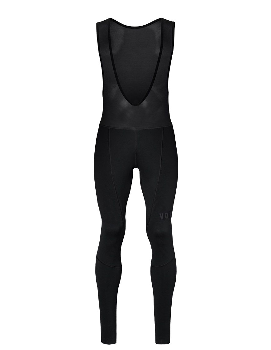 все цены на 2018 full black CYCLING Winter Bib pants With 4D Gel Pad winter thermal fleece fabric cycling bib pants free shiping онлайн
