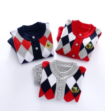2016-Girl-Boy-Knitting-Winter-Sweater-Kid-Knit-Jacket-Long-Sleeve-Baby-Clothes-2-pieces-Top-Pants-1