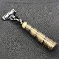 Мужские Безопасные лезвия для бритья  лезвия для бороды для мужчин  стержни Mach 3 лезвия  нож  ручка из натурального дерева
