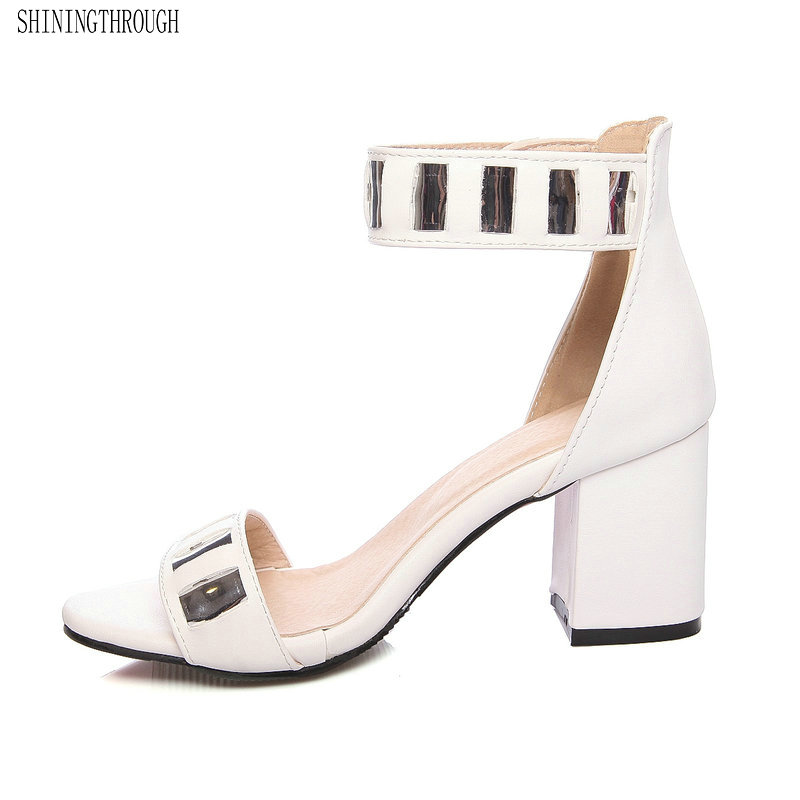 Ladies Shoes 2018 Summer Gladiator Sandals Women High Heels Party Wedding Shoes Glitter Ladies Sandals