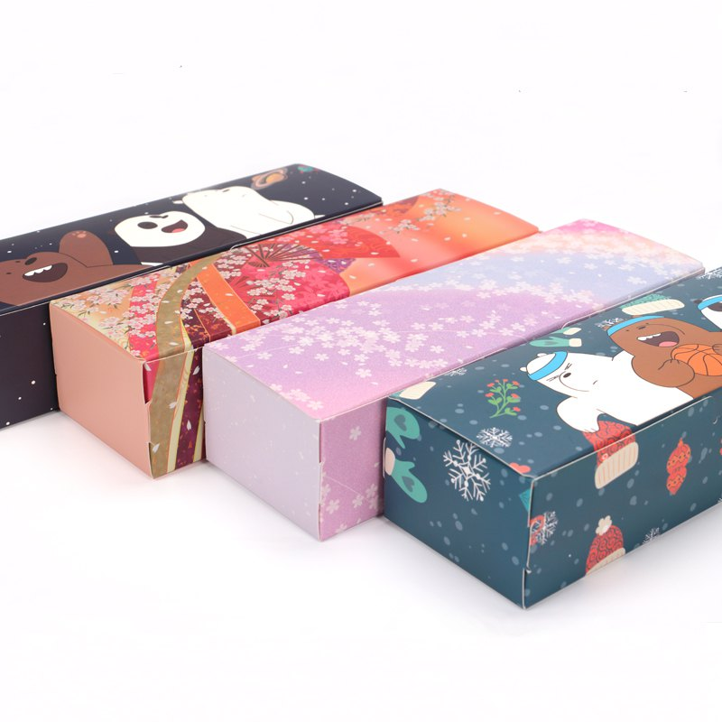 15PCS 21.2x7x5cm New Design Paper Gift Box Caixa Macaron