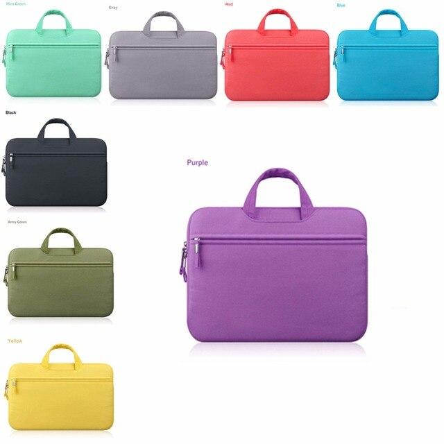 soild bag Notebook Sleeve Cover Carry Bag For ipad MacBook Pro Air 13.3 Laptop Bag Case 13 '' 13.3'' Laptop Bag BAG20-ANKI-13