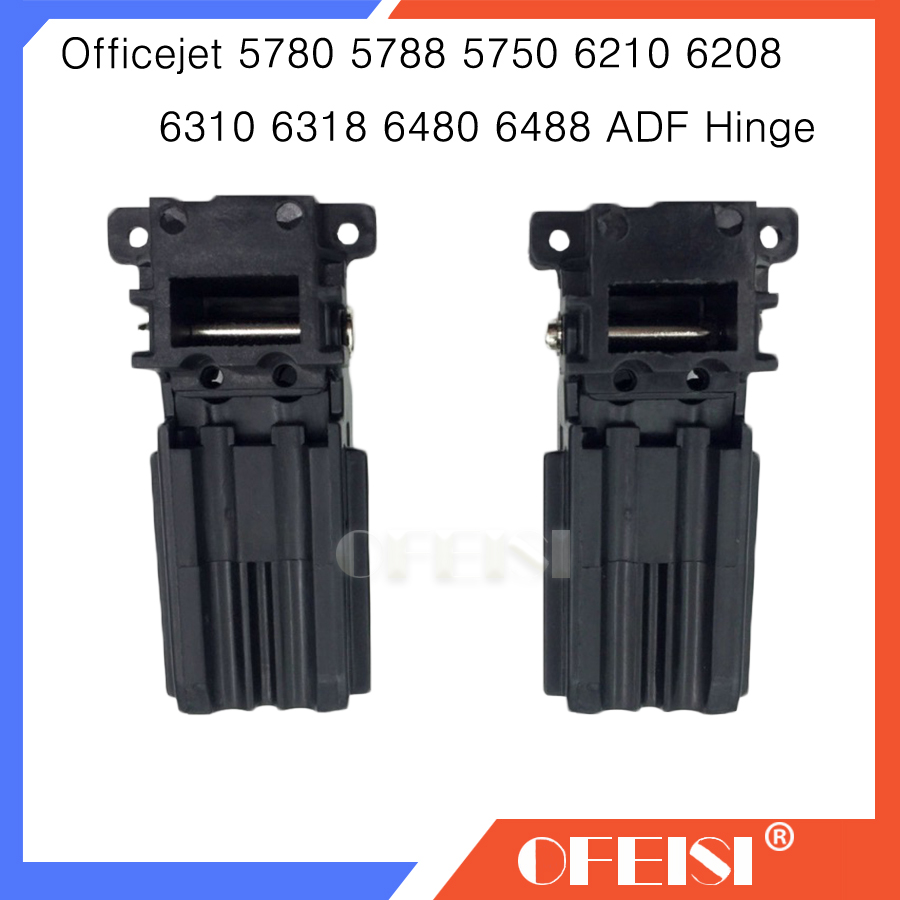 Kompatibilis új Q8052-40001 ADF zsanér szerelvény / ADF lábak a hp számára Officejet 5780 5788 5740 5750 6210 6208 6310 6318 6480 6488