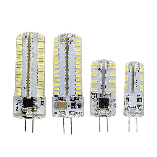 G4 led silicone light bulb 12v dc ac 110v 220v 3014 smd crystal g4 led silicone light bulb 12v dc ac 110v 220v 3014 smd crystal light spotlight chandelier mozeypictures Choice Image