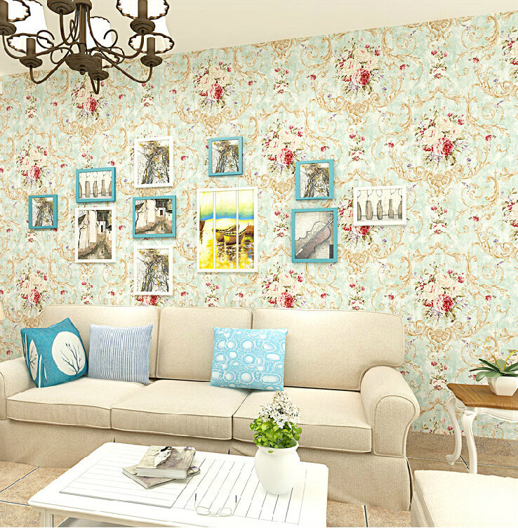Wallpaper country style home safe
