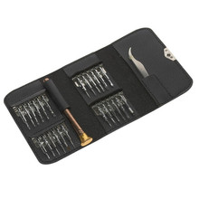 Chrome Steel Screwdrivers 26 in 1 Set with Wallet Case for Drone