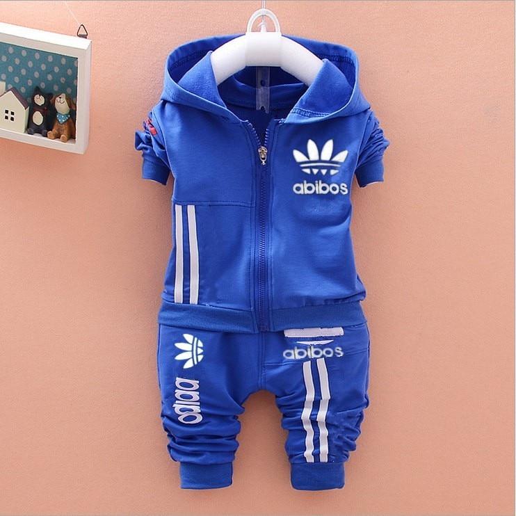 4a59a5293651 1 4Y New kids clothes boys sport suit children clothing set cotton ...