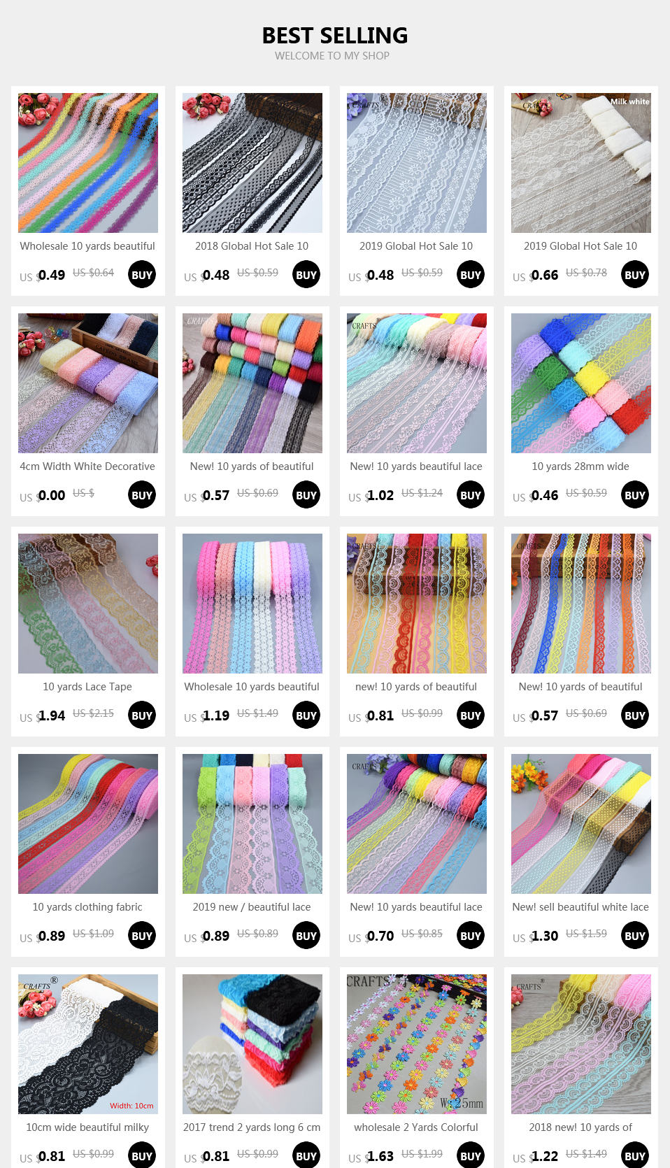 HTB1UHiCXv1G3KVjSZFk761K4XXao New! 10 yards of beautiful lace ribbon, 4.5 cm wide, DIY Clothing / Accessories / floral accessories, etc.