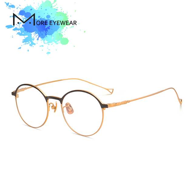 99098d4dec 2018 DADO New Fashion Classic Around Prescription Eyeglasses With Optical  Lens For Women Retro Light Weight
