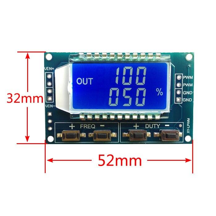 1Hz-150 Khz 3.3 V- 30 V PWM Módulo Board