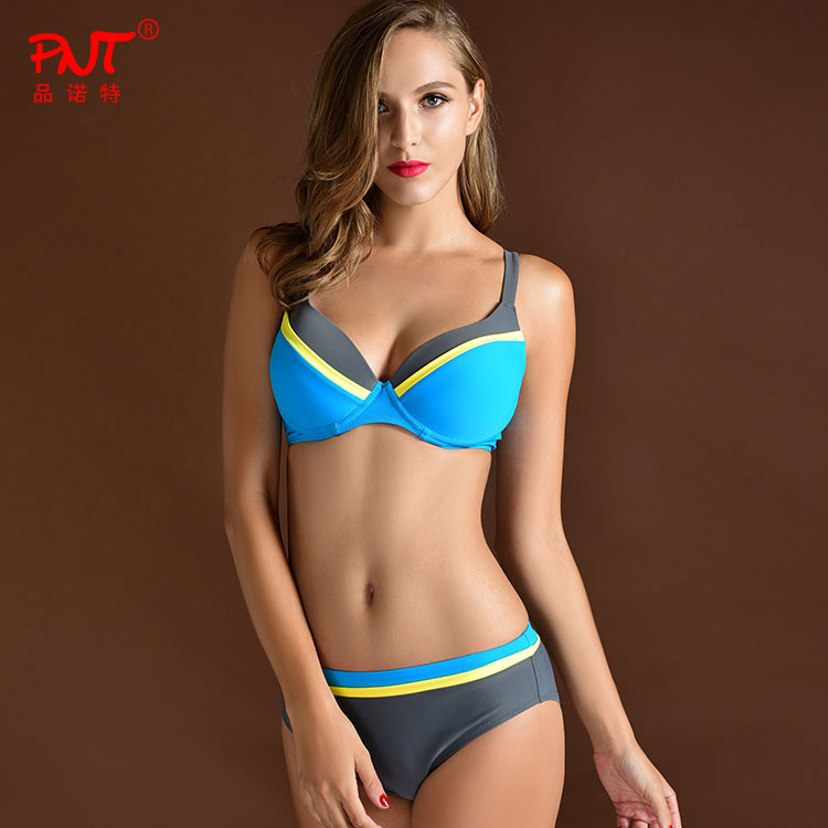 2017 New Sexy Bandeau Bikinis Women Swimsuit Brazilian Bikini Set Beach Bathing Suit Push Up Swimwear Hot Biquini Swim Wear 2017 new sexy bikinis women swimsuit push up bikini set bathing suits bandeau summer beach wear brazilian size swimwear bikini