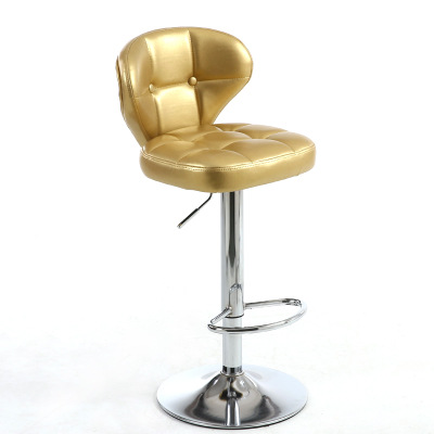 Home chair European barstool chair stool chairs lifting rotating chair the silver chair