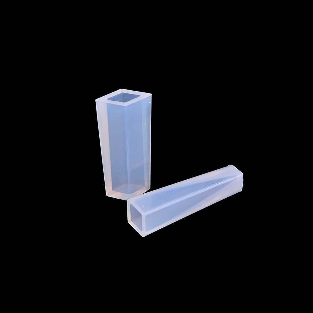 1 Pcs DIY Pingente Jóias Pingente De Resina de Silicone Líquido Molde Artesanal Molde Ferramentas de Decoração de Cristal Projeto