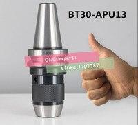 1 STÜCKE BT30 APU13 Integrierte keyless selbst engen bohrfutter für fräsen drehmaschine Bereich: 1 13mm|Werkzeughalter|   -
