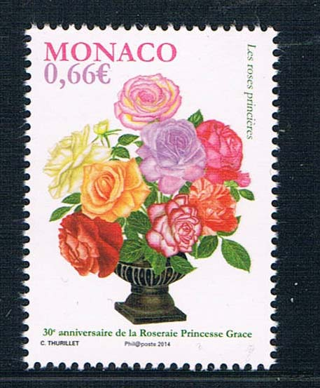 MN0652 Monaco 2014 flower fragrance stamps 1 new Monte Carlo show 0714 monte carlo techniques for electron radiotherapy