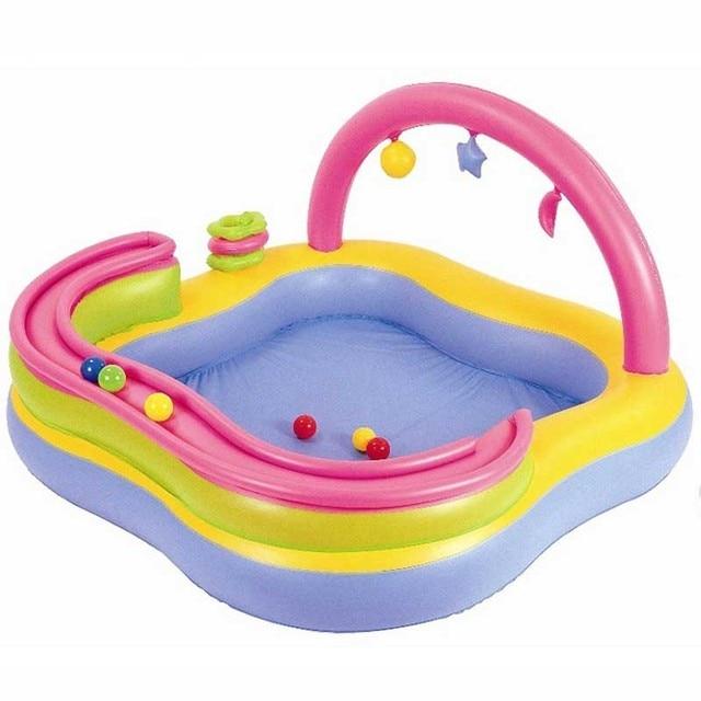 cd8d5cc7f Crianças Piscina de Bolinhas Oceano espessamento pista piscina inflável  brinquedos bebê piscina infantil