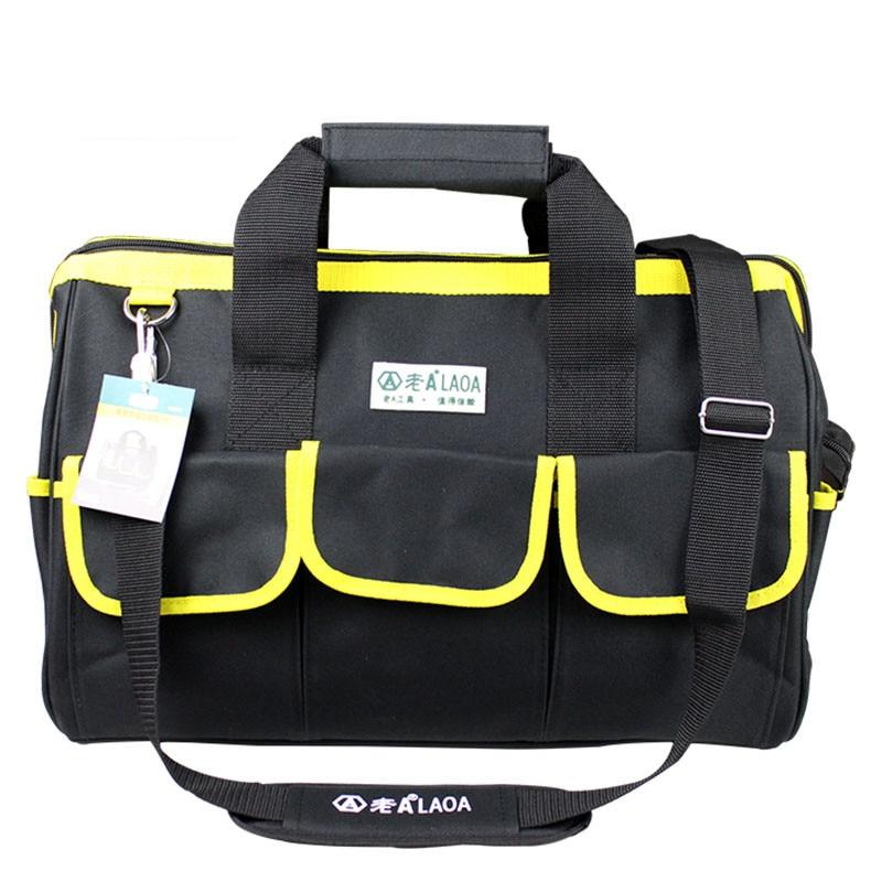 1 vnt LAOA 600D įrankių krepšys Elektrikas Didelės talpos remonto - Įrankių laikymas - Nuotrauka 4