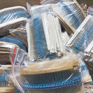 Image 2 - 1120pcs 0.25W 56Values 1/4W 1% 1 10M ohm Metal Film Resistance Assorted kit Set