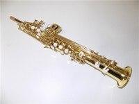 Eb Sopranino Saxofone Latao Corpo Com Caso Foambody Tempo Do Transporte 8 13 Dias De Instrumentos