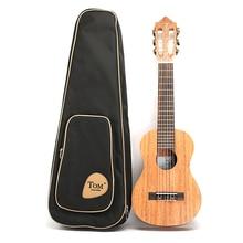 28 Inch Guitalele Mahogany Rose Wood With Gig Bag Classic Guitar