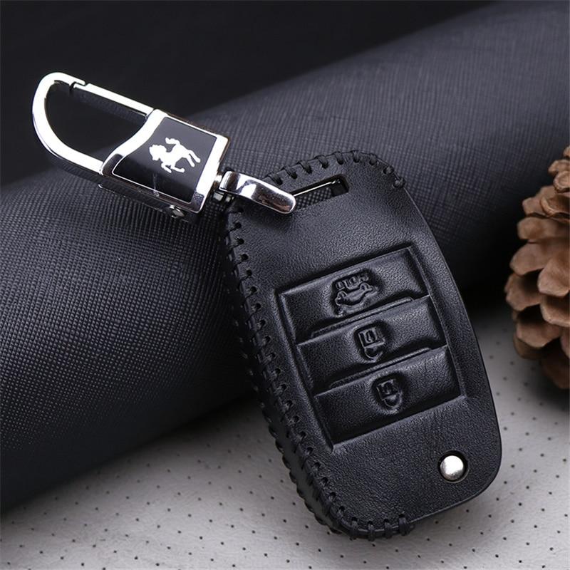 Llave del coche cubierta de la caja inteligente para Kia Rio K2 3 4 - Accesorios de interior de coche - foto 6