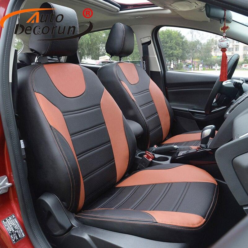 AutoDecorun PU housse en cuir siège coussin de voiture pour MG3 housses de siège de voiture accessoires housses de coussin personnalisées pour voitures supports de siège