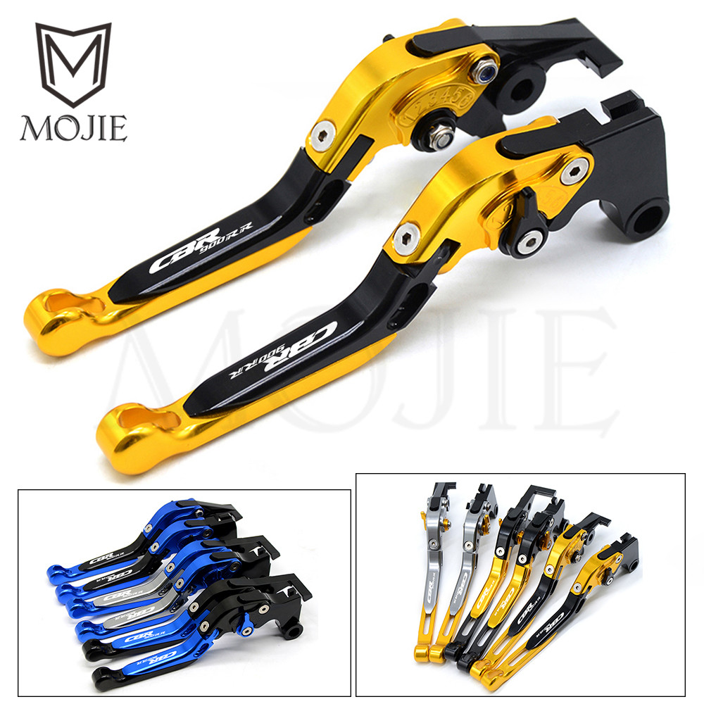 For HONDA CBR900RR CBR 900RR CBR 900 RR 1992 1999 Motorcycle Accessories Adjustable Folding Extendable Brakes