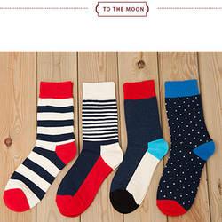 20 пар/лот мужчин Носки chunmian значение рекомендуется в носки без пятки в полоску и горошек цвета хлопок Носки для мужчин