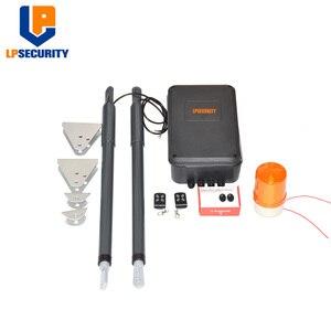 Image 4 - 12VDC 200kg per leaf Swing Gate Opener system Electrical gate motor with optional outdoor fingerprint keypad reader