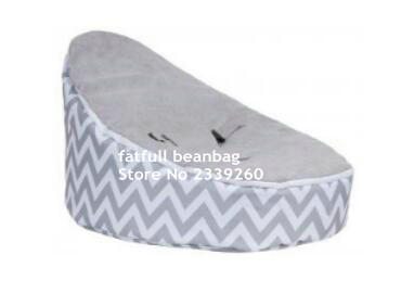 Pleasing Us 35 0 Cover Only No Fillings Light Grey Chevron Baby Bean Bag Chair Sleeping Beanbag Sofa Beds For Children In Living Room Sets From Furniture Ibusinesslaw Wood Chair Design Ideas Ibusinesslaworg