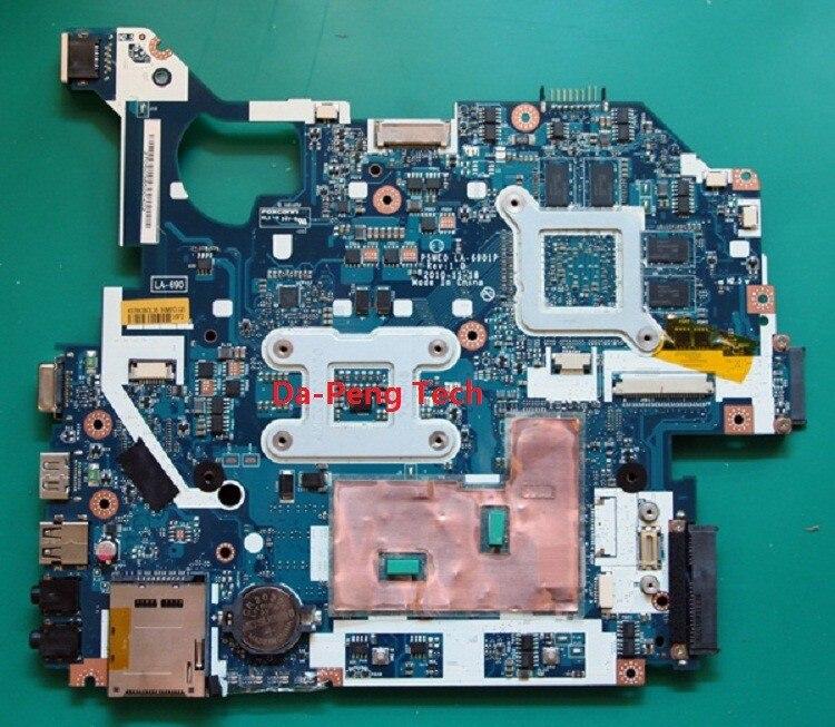 Kefu For Acer Aspire 5750g Laptop Motherboard P5we0 La 6901p Ddr3 8 Graphics Chip 100  Tested