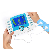 Dual Output 10 Modes Super power Massage TENS Acupuncture Electric Massager Physiotherapy Muscle Stimulator Full Body Relaxation